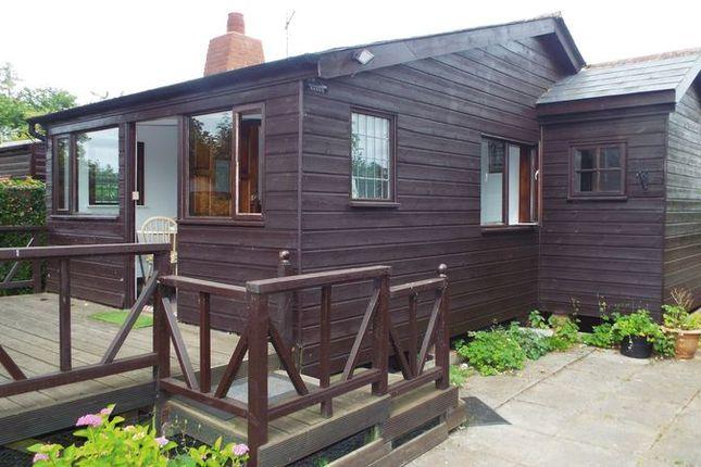 Thumbnail Lodge for sale in Nelsons Cabin, Ferry Landings, Ovington