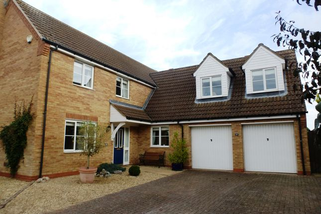 Thumbnail Detached house to rent in Ladbroke Close, Helpringham, Sleaford
