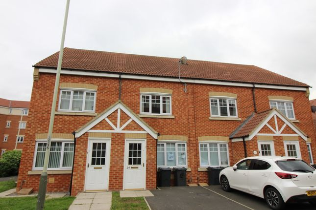 Thumbnail Terraced house to rent in Appleby Close, Darlington