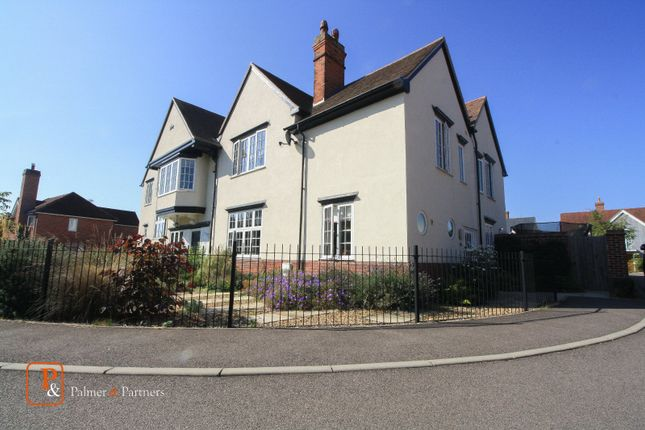 Thumbnail Semi-detached house to rent in Bluegates Place, Colchester, Essex