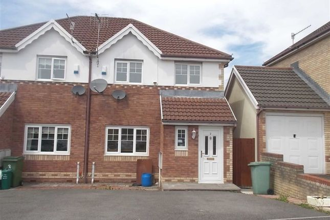 Thumbnail Semi-detached house for sale in Clos Ty Melyn, Rhydyfelin, Pontypridd