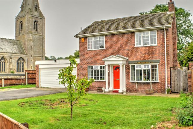 Thumbnail Detached house for sale in St. Johns Close, Leasingham, Sleaford