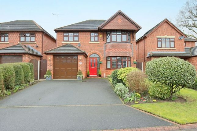Thumbnail Detached house for sale in Basset Close, Willaston, Nantwich