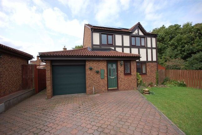Thumbnail Detached house for sale in Darden Close, Killingworth, Newcastle Upon Tyne