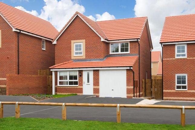 "Thumbnail Detached house for sale in ""Derwent"" at Newton Lane, Wigston"