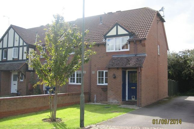 Thumbnail End terrace house to rent in Ashlea Meadow, Bishops Cleeve, Cheltenham