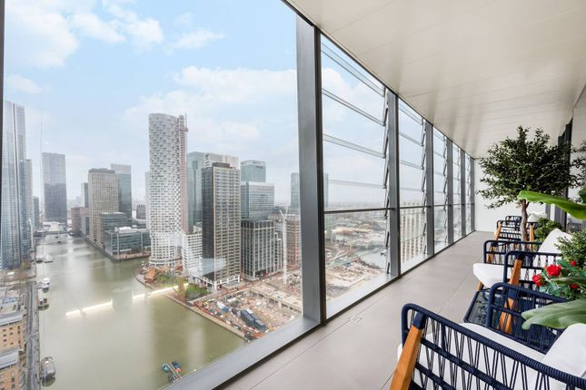 Thumbnail Flat for sale in Dollar Bay Place, Canary Wharf, London