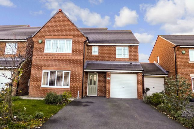 Thumbnail Detached house for sale in Foxcover, Linton Colliery, Morpeth