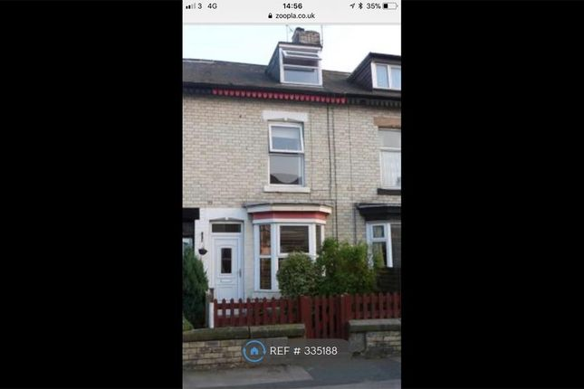 Thumbnail Terraced house to rent in Chatsworth Place, Harrogate