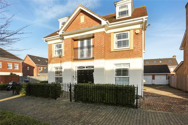 Thumbnail Detached house for sale in Swordsmans Road, Deepcut, Camberley, Surrey