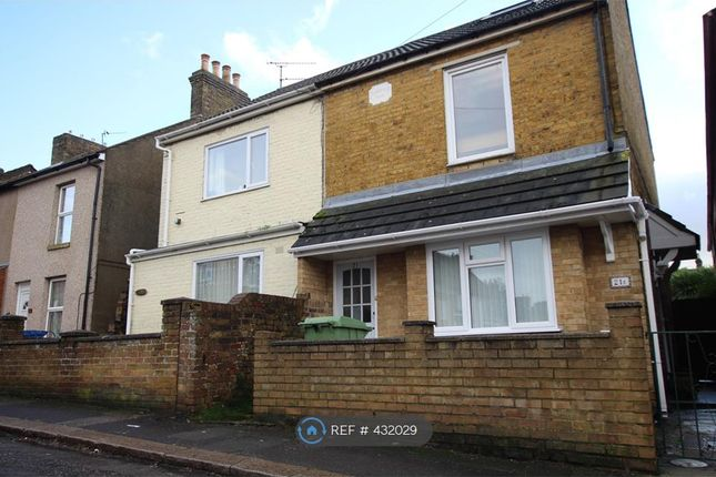 Thumbnail Maisonette to rent in Thomas Road, Sittingbourne