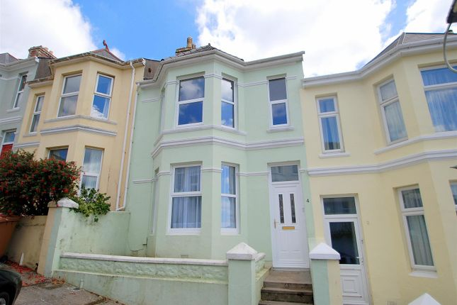 Thumbnail Terraced house for sale in Rutland Road, Mannamead, Plymouth