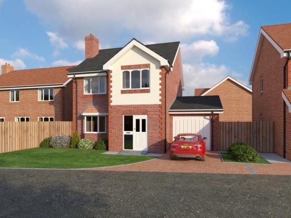 Thumbnail Detached house for sale in Alltami Heath, Alltami Road, Buckley