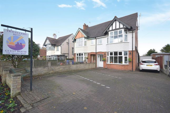 Thumbnail Semi-detached house for sale in Alcester Road, Stratford-Upon-Avon