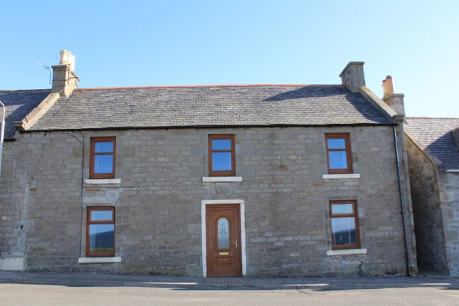 Front  of New Street, Buckie AB56