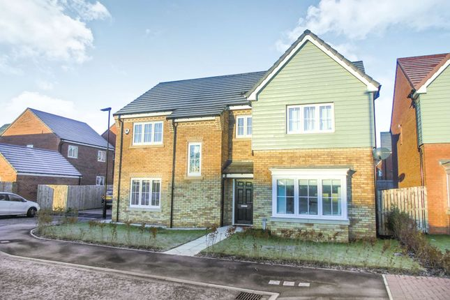 5 bed detached house to rent in Field Close, Backworth, Newcastle Upon Tyne NE27