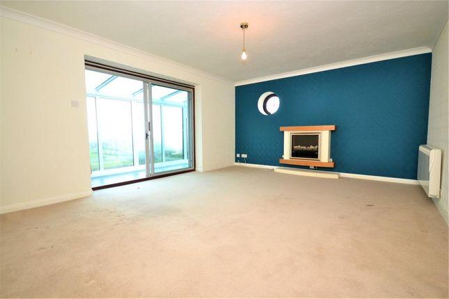 Living Room of Claremont Falls, Killigarth, Looe, Cornwall PL13
