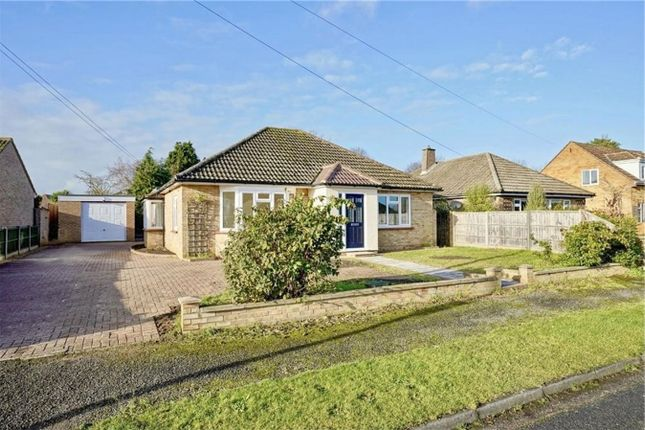 Thumbnail Detached bungalow for sale in Eaton Ford, St Neots, Cambridgeshire