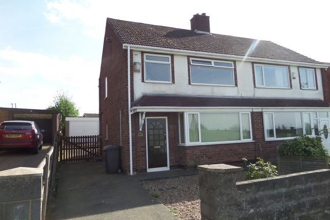 Thumbnail Semi-detached house to rent in Enderby Road, Scunthorpe