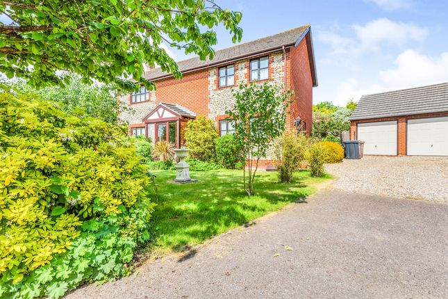 Thumbnail Detached house for sale in The Dell, Bodham, Holt