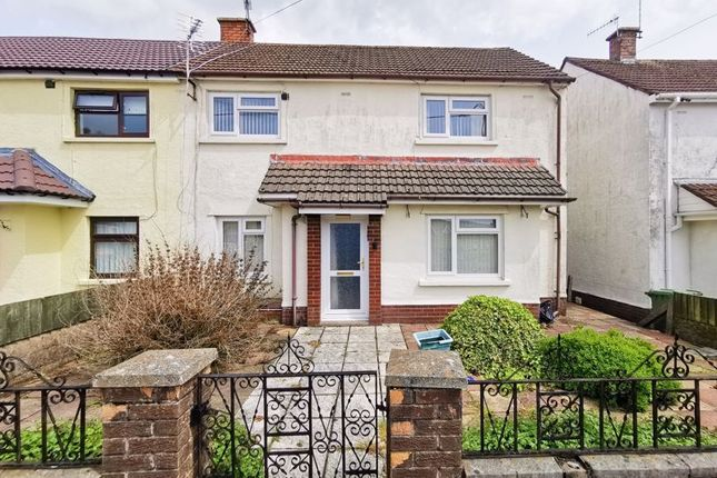 Thumbnail Semi-detached house for sale in Navigation Street, Trethomas, Caerphilly