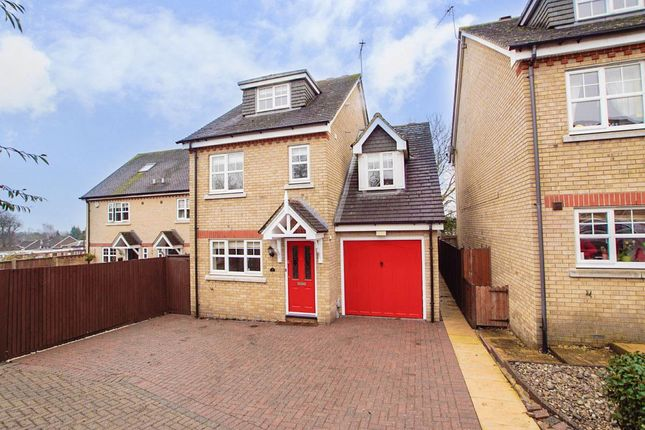 Thumbnail Detached house to rent in Cob Lane Close, Digswell, Welwyn