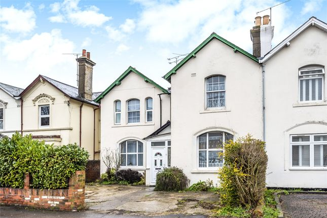 Thumbnail Semi-detached house for sale in Crescent Road, Reading, Berkshire