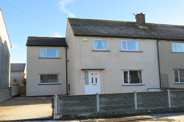 Thumbnail Semi-detached house for sale in Ehen Road, Thornhill, Egremont