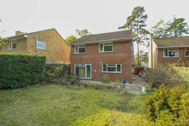 Thumbnail Detached house to rent in Goldney Road, Camberley