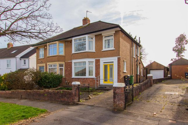 Thumbnail Semi-detached house for sale in Beatty Avenue, Heath, Cardiff