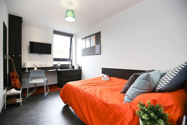Thumbnail Studio to rent in Studio Apartment, The Foundry, Shieldfield