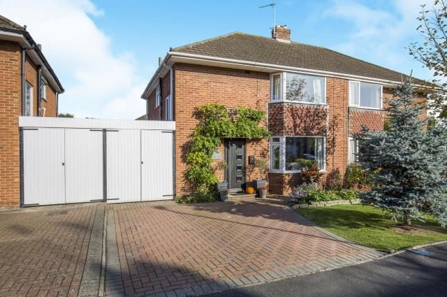 Thumbnail Semi-detached house for sale in Hurcombe Way, Brockworth, Gloucester, Gloucestershire