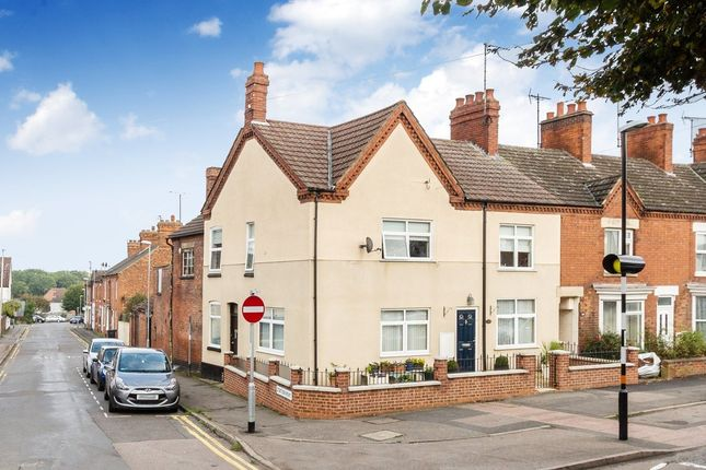 Thumbnail End terrace house for sale in Wellingborough Road, Rushden