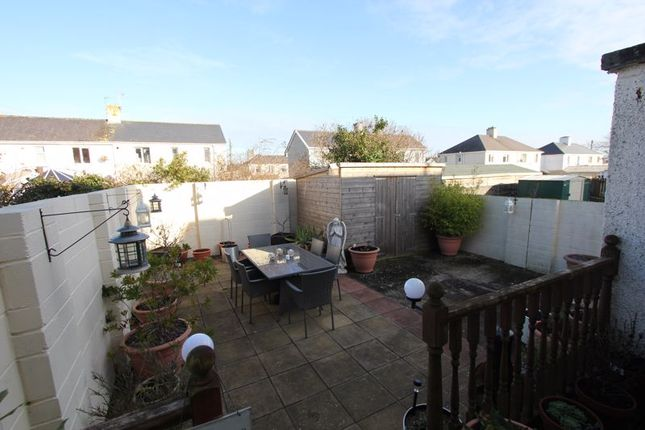 Rear Garden of Pantycelyn Place, St. Athan, Barry CF62