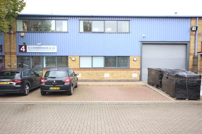 Thumbnail Office to let in Mahatma Gandhi Industrial Estate, Milkwood Road, London