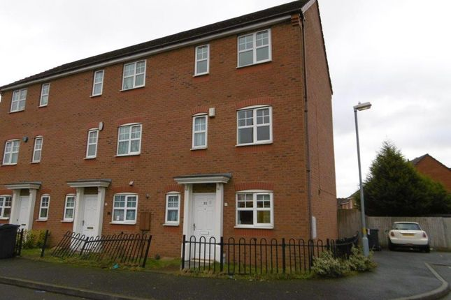 Thumbnail Town house to rent in Jubilee Gardens, Perry Common