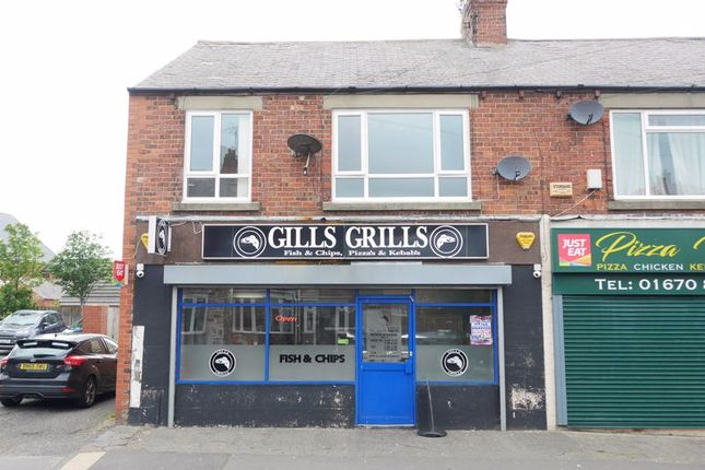 Thumbnail Commercial property for sale in Gills Grills, 1/1A Whitley Terrace, Bedlington Station