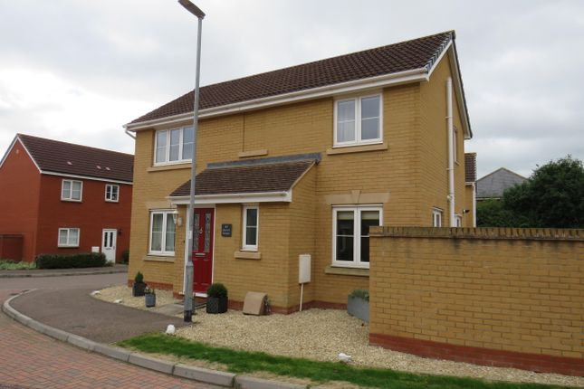 Thumbnail Detached house to rent in Bramley Close, Wellington