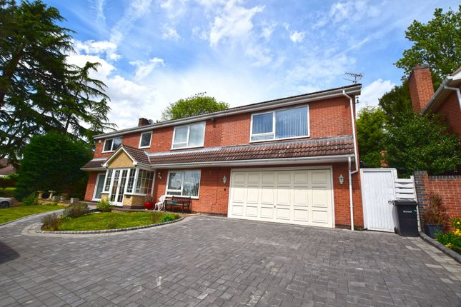 Thumbnail Detached house for sale in Lakeside Court, Leicester, Leicestershire