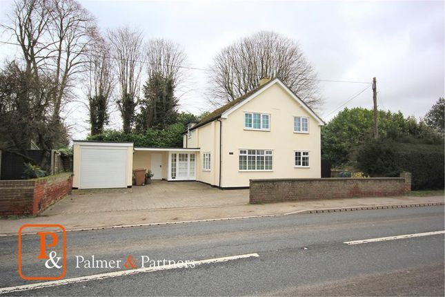 Thumbnail Detached house for sale in Chapel Cottage, Sudbury Road, Newton