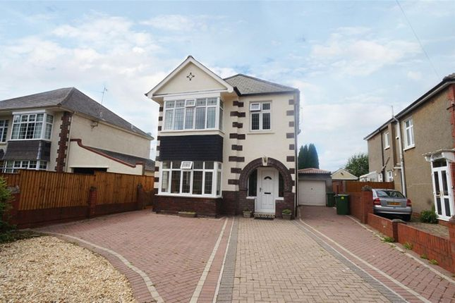 Thumbnail Detached house for sale in Heathwood Road, Heath, Cardiff