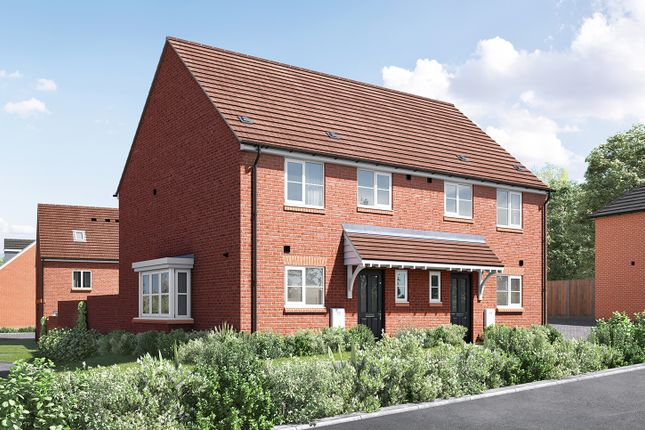 "Thumbnail Semi-detached house for sale in ""The Eveleigh"" at Wood Lane, Binfield, Bracknell"