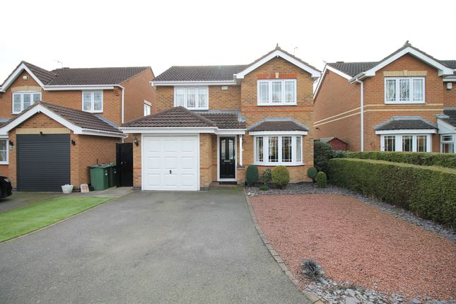 Thumbnail Detached house for sale in Pendragon Way, Leicester Forest East, Leicester