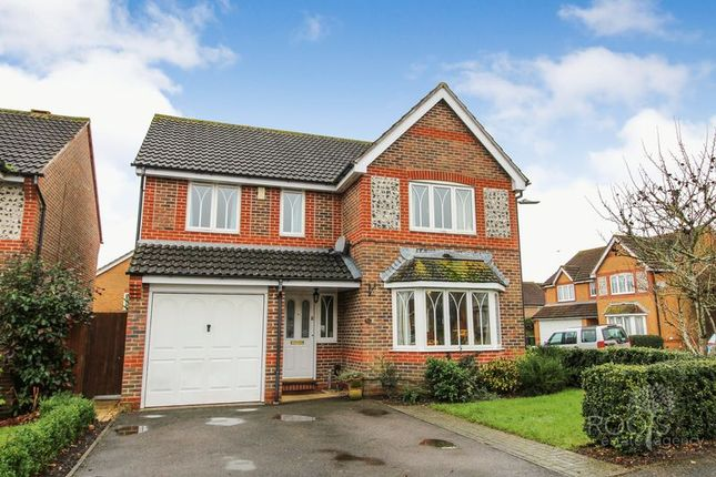 Thumbnail Detached house for sale in Almond Drive, Thatcham