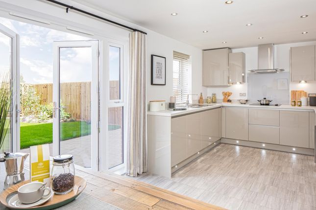 "Thumbnail Detached house for sale in ""Kington"" at Square Leaze, Patchway, Bristol"