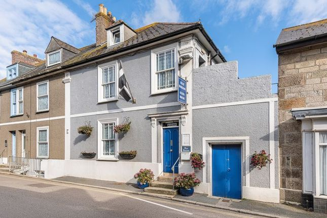 Front Elevation of Fore Street, Marazion TR17