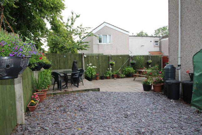 Garden of Hallcroft, Skelmersdale, Lancashire WN8