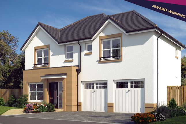 """Thumbnail Detached house for sale in """"The Westbury"""" at Edinburgh Road, Newhouse, Motherwell"""