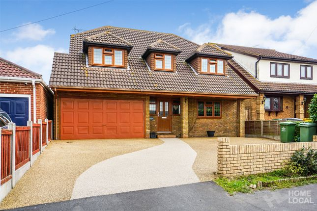 Thumbnail Detached house for sale in Highlands Road, Bowers Gifford, Basildon, Essex
