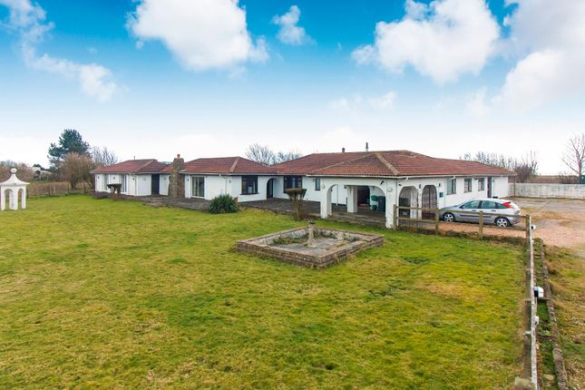 Thumbnail Detached bungalow for sale in New Dover Road, Capel-Le-Ferne, Folkestone